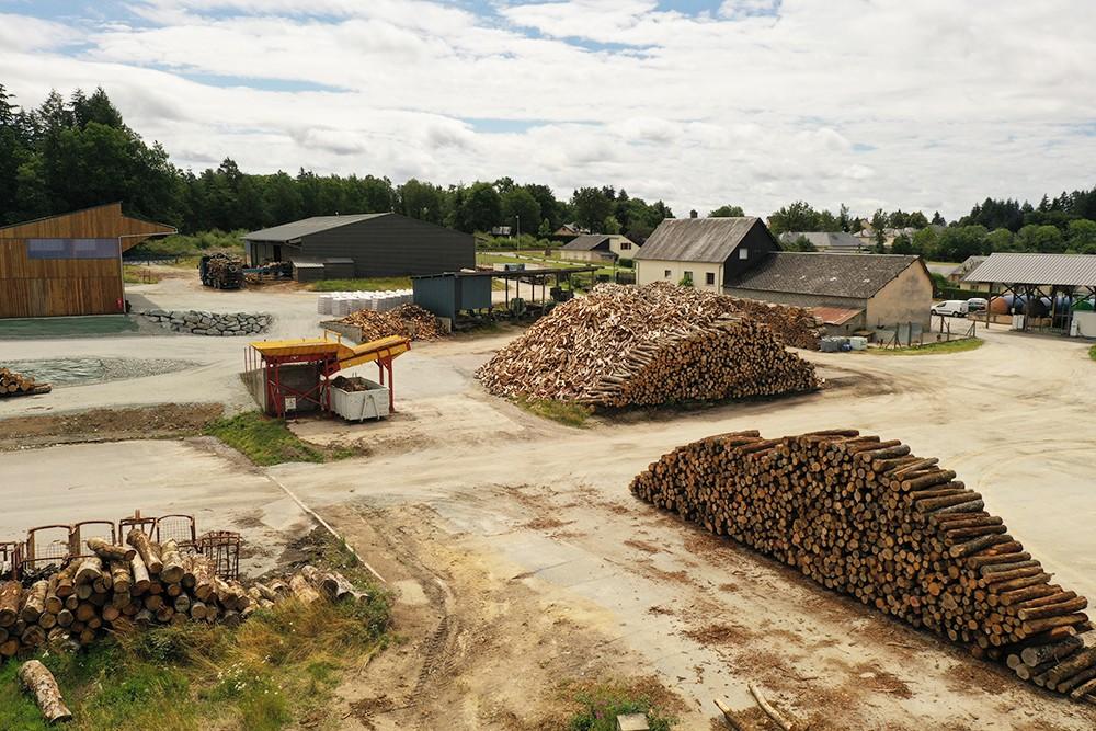 Bois bûche à Meymac | SARL Puydupin Pascal